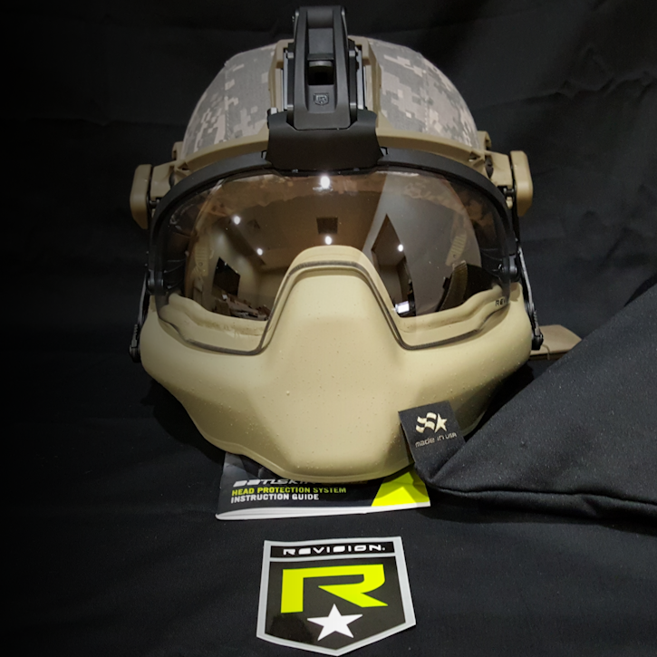 REVISION Ballistic Helmet Systems
