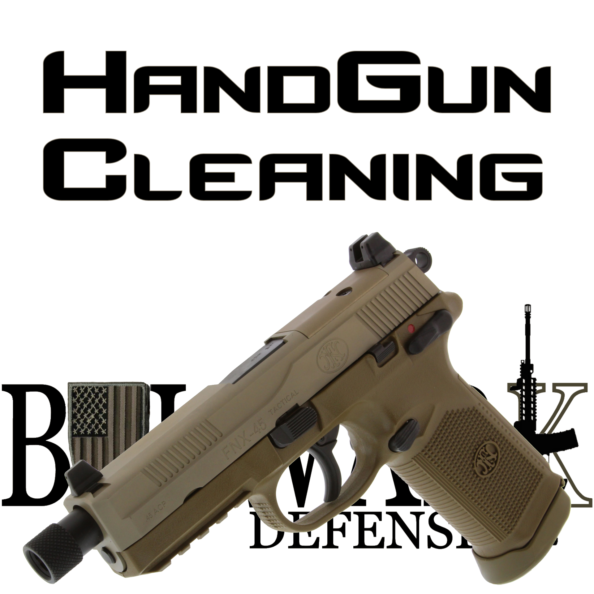Handgun-Cleaning