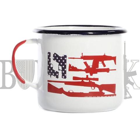 Enamel Freedom Mug - BD
