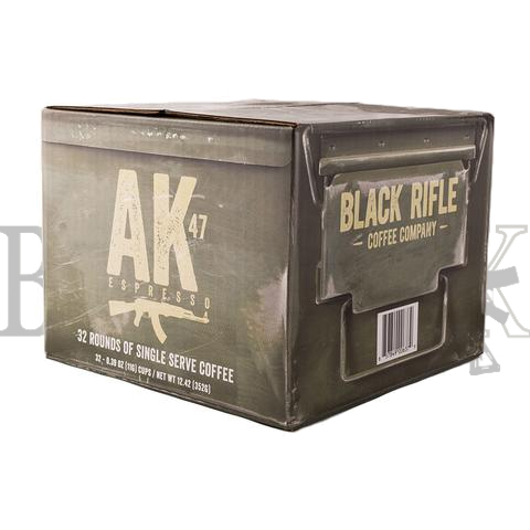 AK-47 Coffee Rounds - BD(32)